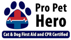 Pro Pet Hero Cat & Dog First Aid and CPR Certified